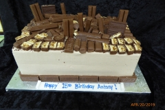 3326, 15th birthday, fifteenth birthday, chocolate, candy, candy bar, candy bars
