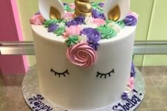 3052, birthday, unicorn, white, blue, pink, purple, green, gold