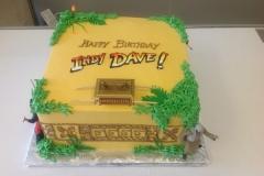 2052, birthday, indiana jones, raiders of the lost ark, vine, vines, treasure, tan, yellow, green