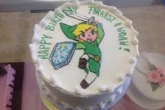 2107, birthday, link, video game, green, white