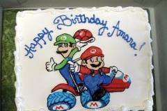 2131, birthday, mario, luigi, super mario brothers, mario kart, shell, car, blue, red, green