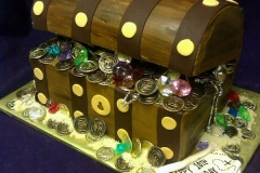 2448, tenth birthday, 10th birthday,  treasure chest, treasure, carved