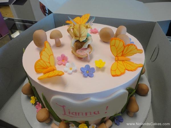2430, birthday, fairy, fairy princess, butterfly, butterflies, mushroom, mushrooms, woodland, flower, flowers, pink, yellow