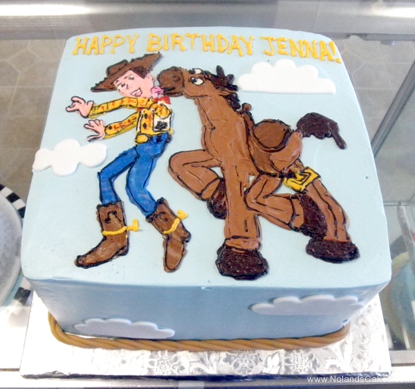 2432, birthday, toy story, woody, bullseye, pixar, horse, blue, brown