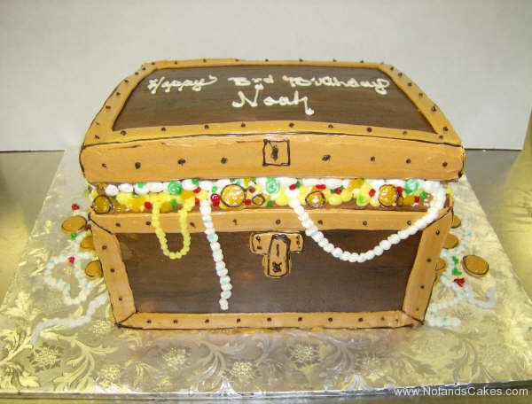 2444, third birthday, 3rd birthday, treasure chest, treasure, carved