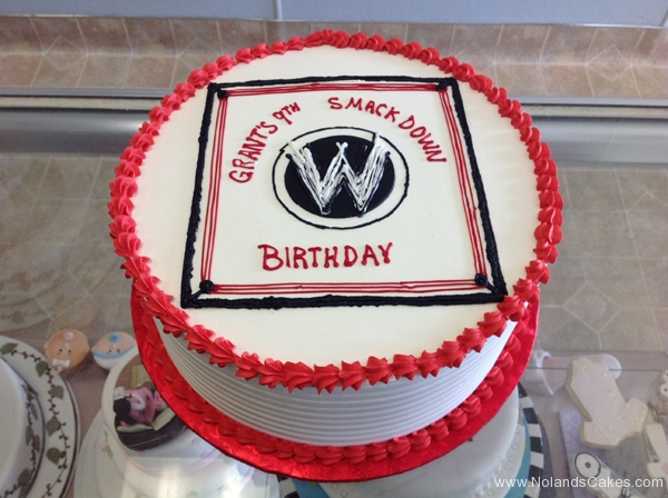 2486, 9th birthday, ninth birthday, wwe, wrestling, ring, black, white, red