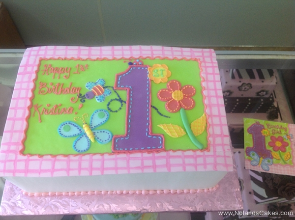 132, 1st birthday, first birthday, birthday, flower, flowers, butterfly, pastel, pink, purple, green, blue, bee, ladybug