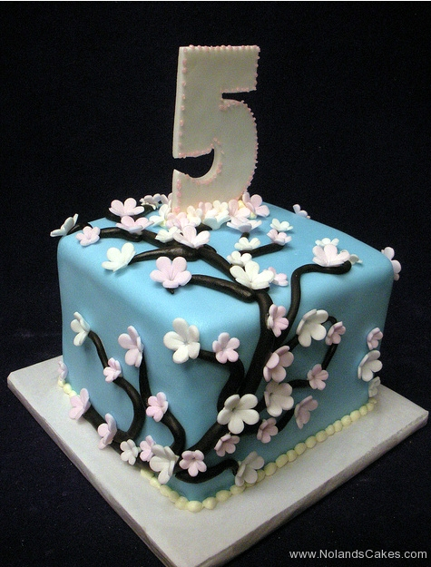 152, 5th birthday, fifth birthday, blue, flowers, tree, flower, trees, cherry blossom,