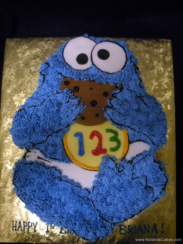 181, cookie monster, sesame street, cookie, first birthday, 1st birthday, birthday, baby