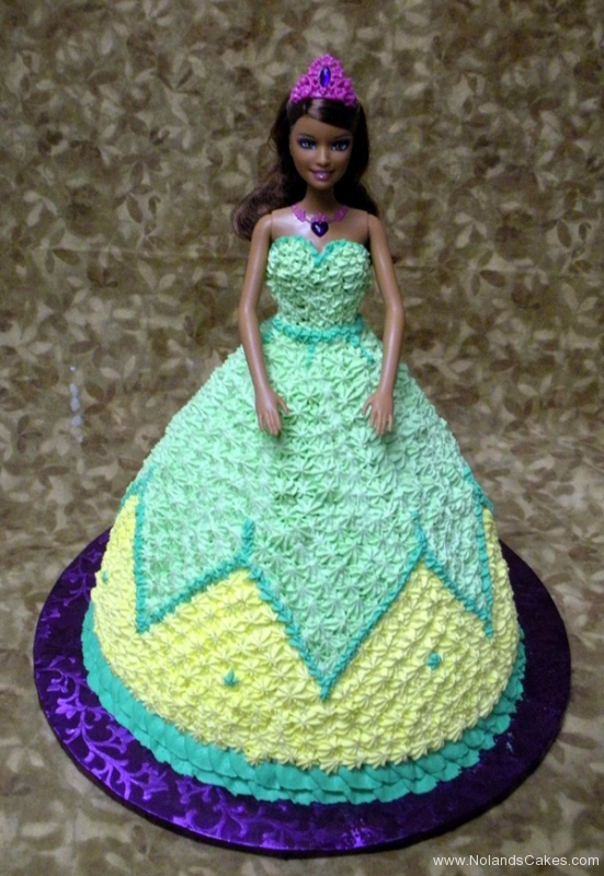 199, barbie, barbie cake, blue, white, purple, birthday, carved