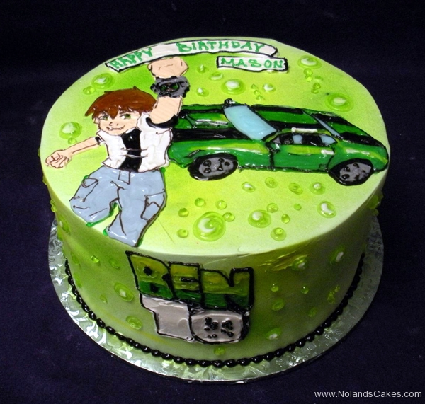 211, birthday, ben ten, ben 10, green, car
