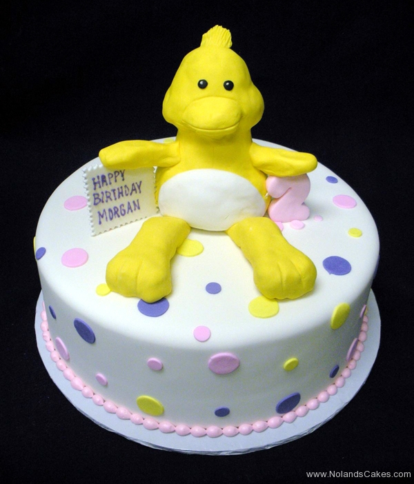 267, birthday, 2nd birthday, second birthday, duck, duckie, dots, polka dots, white, yellow, pink, purple, blue