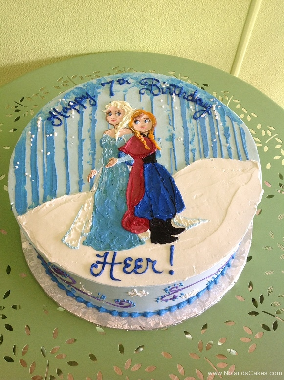 342, 7th birthday, seventh birthday, frozen, elsa, anna, blue, white