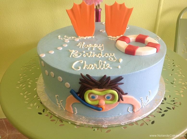 356, birthday, ocean, swim, snorkel, fins, flippers, blue, orange