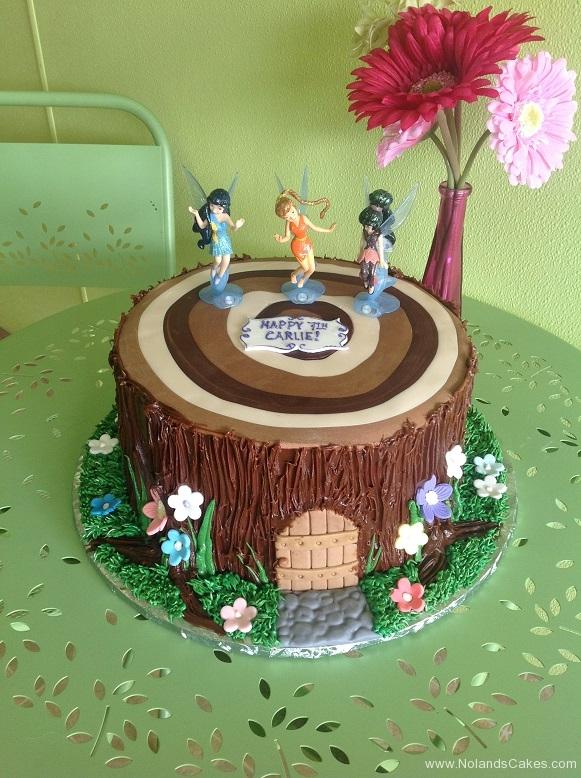 383, 7th birthday, seventh birthday, fairy, fairies, wood, woods, woodland, forest, stump, brown, flower, flowers