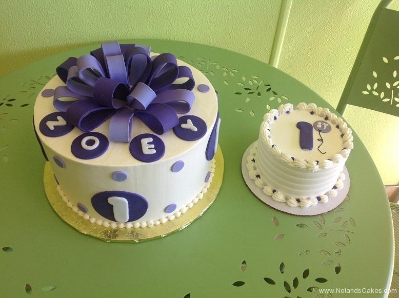 277, birthday, first birthday, 1st birthday, dots, dot, blue, purple, smash cake