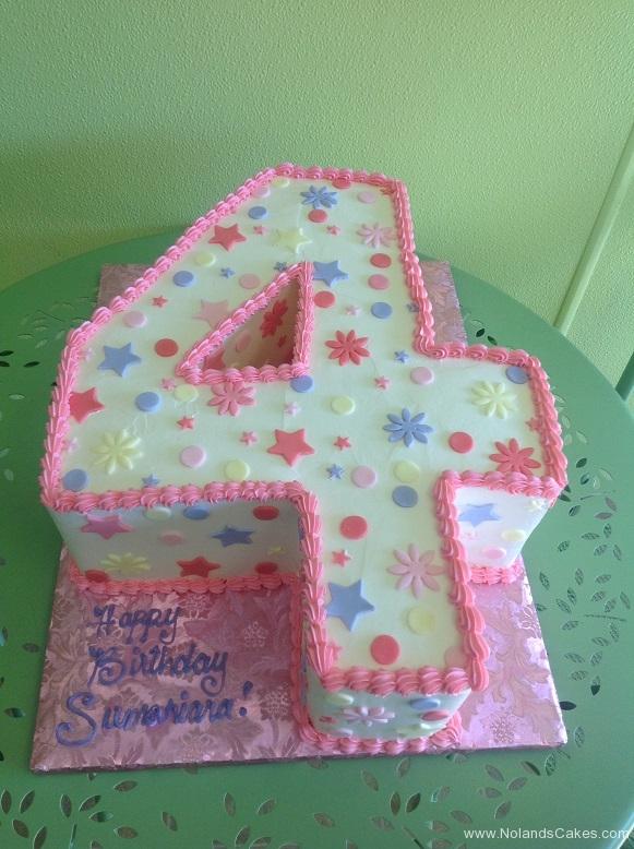 408, 4th birthday, 4th birthday, pink, purple, white, carved