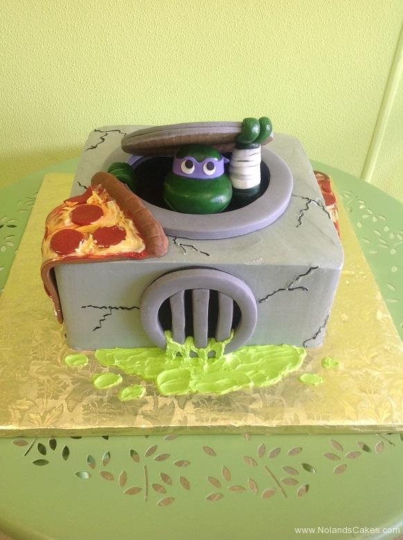 423, birthday, teenage mutant ninja turtles, tmnt, sewer, pizza, cartoon, cartoons