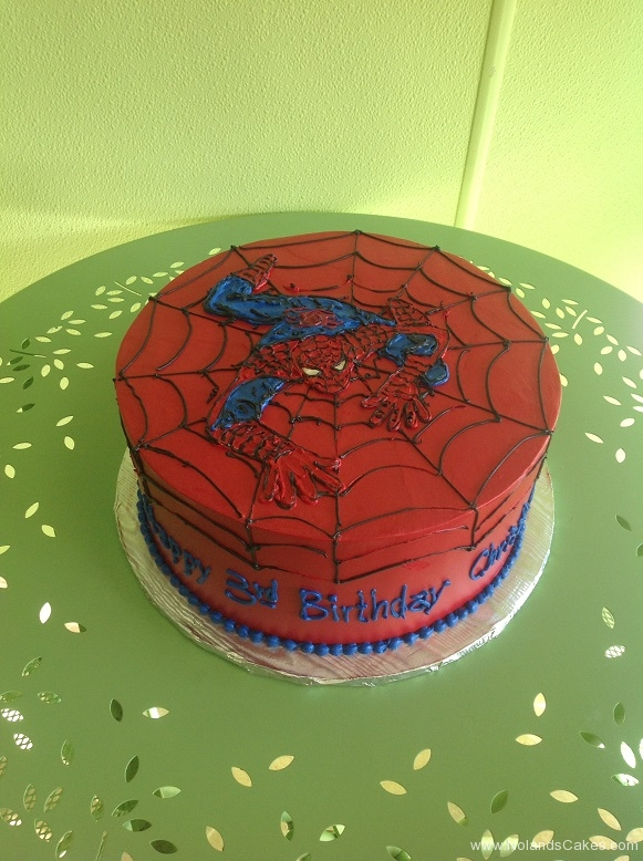 589, third birthday, 3rd birthday, spiderman, marvel, superhero, superheros, red, blue, black spider, web