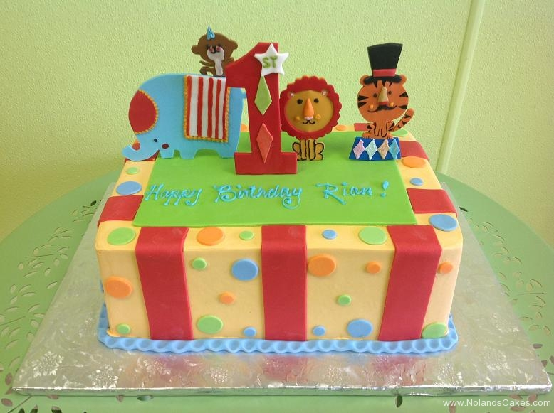 622, first birthday, 1st birthday, circus, tiger, lion, elephant, monkey, dot, dots, red, yellow, green, blue
