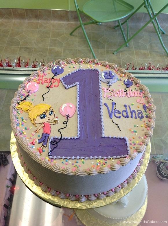 669, first birthday, 1st birthday, girls first birthday, girl, purple, balloons, cartoon