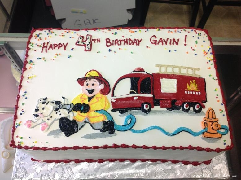 685, 4th birthday, fourth birthday, white, red, blue, yellow, fireman, fire truck, fire fighter, dalmatian, rescue,  fire, fire hydrant, boys, boys birthday