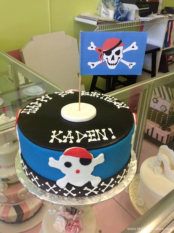 706, third birthday, 3rd birthday, pirate, skull, skull and crossbones, flag, blue, black, white