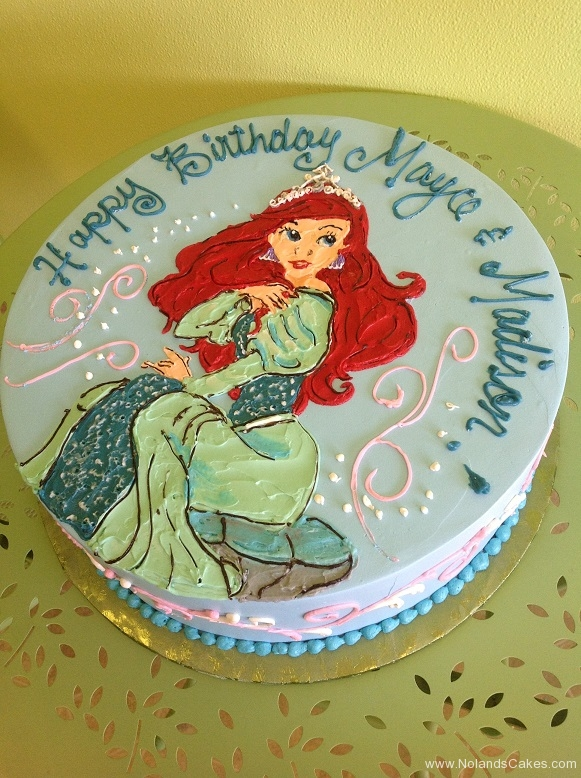 737, birthday, ariel, disney, disney princess, princess, water, little mermaid, ocean, sea, blue, green