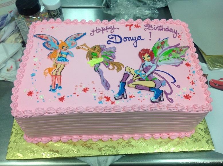 753, 7th birthday, seventh birthday, fairy, fairies, fairy princess, princess, pink, blue, purple