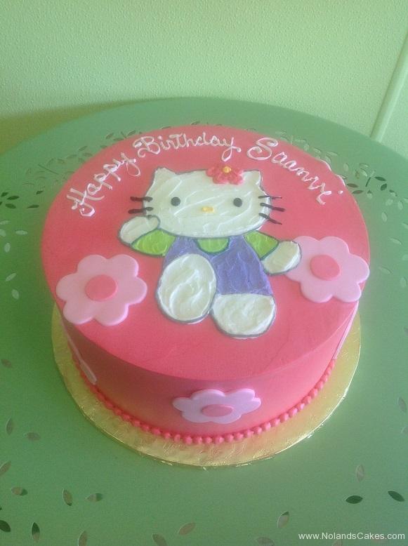 780, birthday, hello kitty, cat, pink, white, flower, flowers