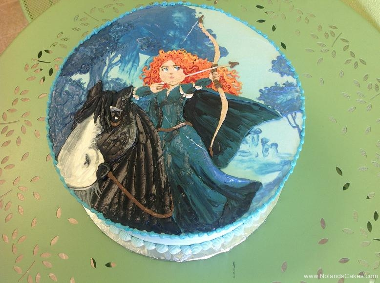 459, birthday, brave, merida, horse, disney, disney princess, princess blue
