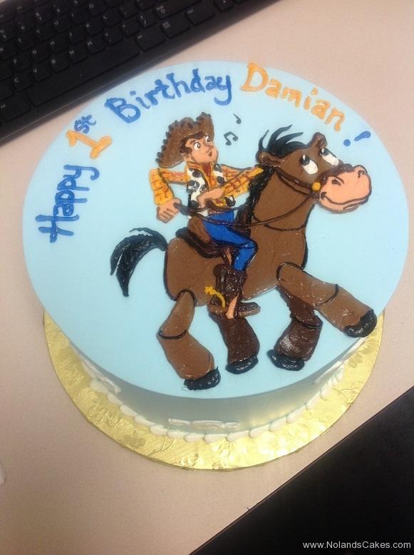 791, first birthday, 1st birthday, toy story, woody, bullseye, blue