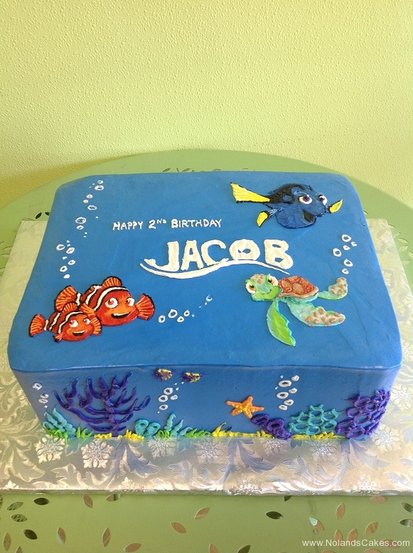 507, second birthday, 2nd birthday, finding nemo, finding dory, nemo, marlin, dory, crush, squirt, fish, turtle, sea, ocean, reef, blue
