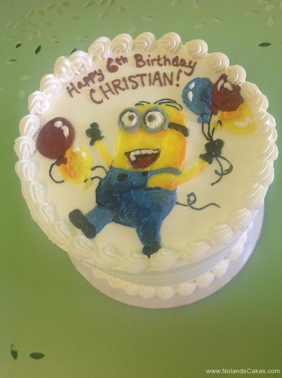 510, 6th birthday, sixth birthday, minion, minions, balloons, balloon, white, blue, red, yellow