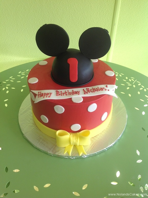 550, first birthday, 1st birthday, mickey mouse, mickey, minnie mouse, minnie, disney, ears, bow, bows, dot, dots, red, white, yellow, black