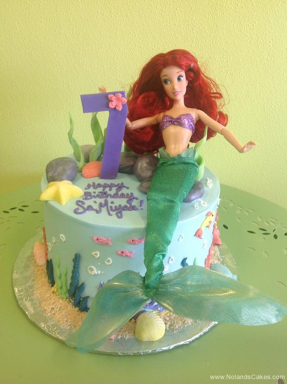 559 seventh birthday, 7th birthday, mermaid, ariel, disney, disney princess, ocean, sea, water, blue,
