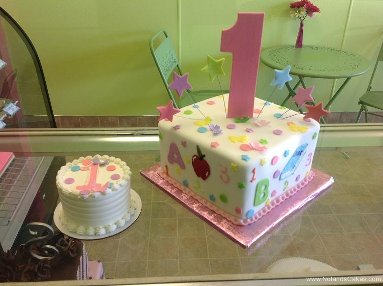 821, 1st birthday, first birthday, alphabet, numbers, star, stars, pink, pastel, blue, green, smash cake