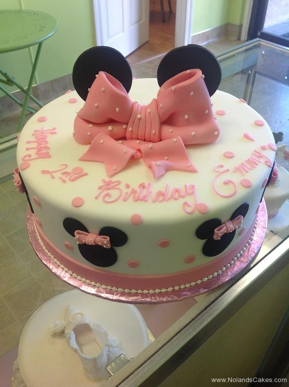 842, second birthday, 2nd birthday, minnie, minnie mouse, ears, disney, bow, bows, dots, pink, white, black