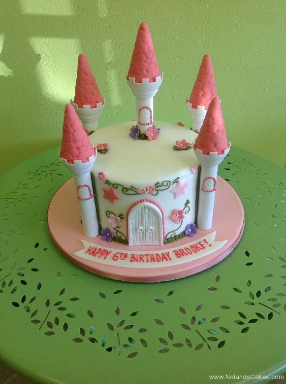 850, sixth birthday, 6th birthday, castle, pink, flower, flowers, princess, pink, purple