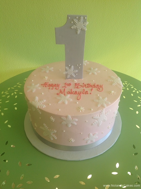 889, first birthday, 1st birthday, snowflake, snowflakes, winter, pink, purple, pastel