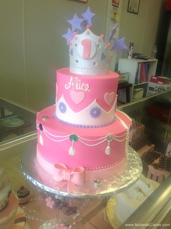 1122, first birthday, 1st birthday, princess, pink, crown, tiara, silver, purple, star, stars, heart, hearts, pink, bow, bows