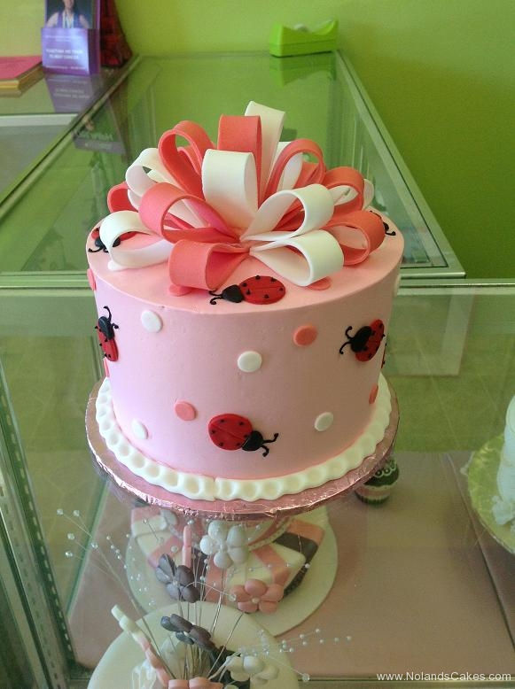 983, birthday, bow, dots, lady bug, ladybug, pink, white