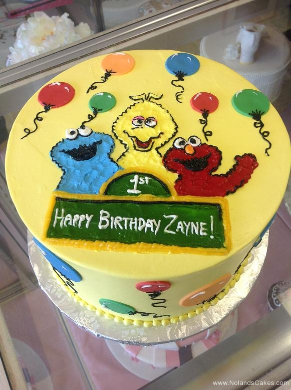 1177, 1st birthday, first birthday, sesame street, cookie monster, big bird, elmo, yellow, blue, green, red, balloon, balloons