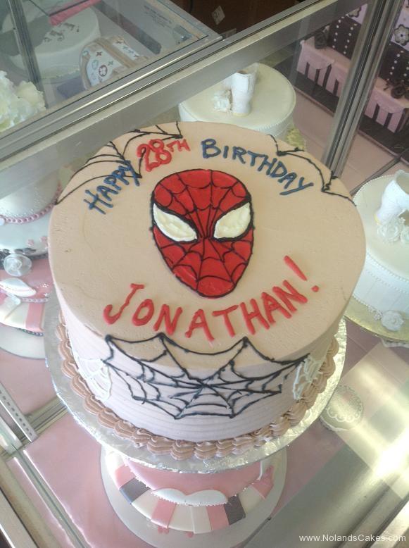 1215, 28th birthday, twenty-eighth birthday, spiderman, spider webs, face, red, white, black