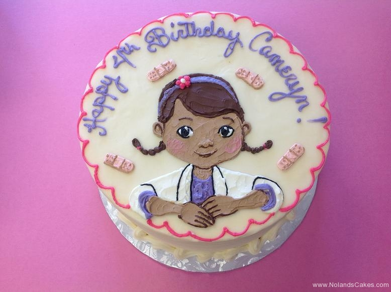 995, 4th birthday, fourth birthday, doc mcstuffins, doctor, nurse, pink, purple, white