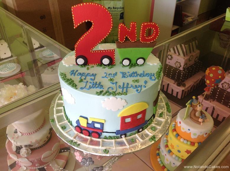 1259, second birthday, 2nd birthday, train, trains, blue, primary, bright