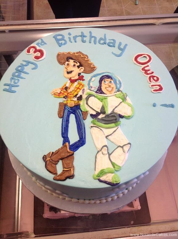 1292, third birthday, 3rd birthday, woody, buzz lightyear, disney, toy story, blue