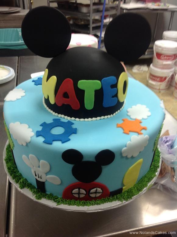 1006, birthday, disney, mickey mouse, mickey, gears, sky, cloud, ears, bright, primary