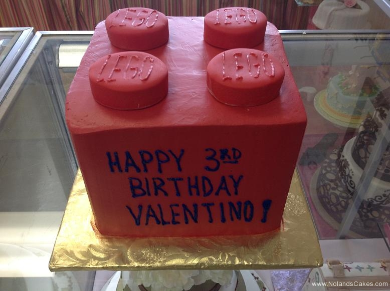 1376, third birthday, 3rd birthday, lego, red