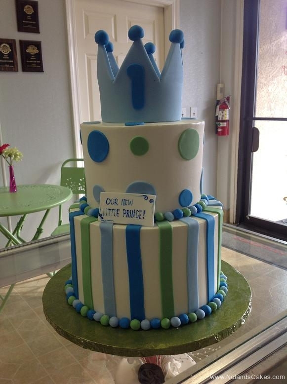 1390, first birthday, 1st birthday, blue, green, dot, dots, stripe, stripes, crown, prince